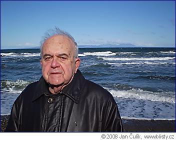 Antonín Liehm (84) ve Skotsku v dubnu 2008