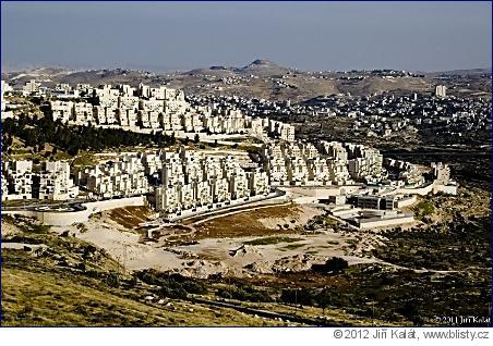 Izraelská osada Har Homa.
